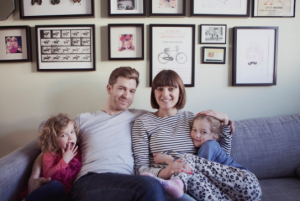 Clemmie Hooper and family