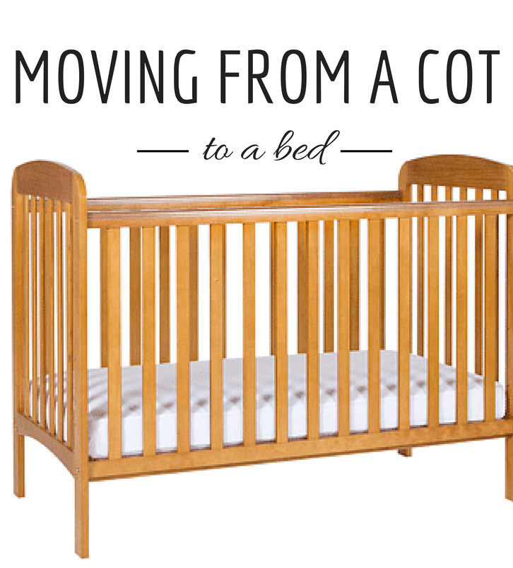 Moving your toddler from a cot to a bed