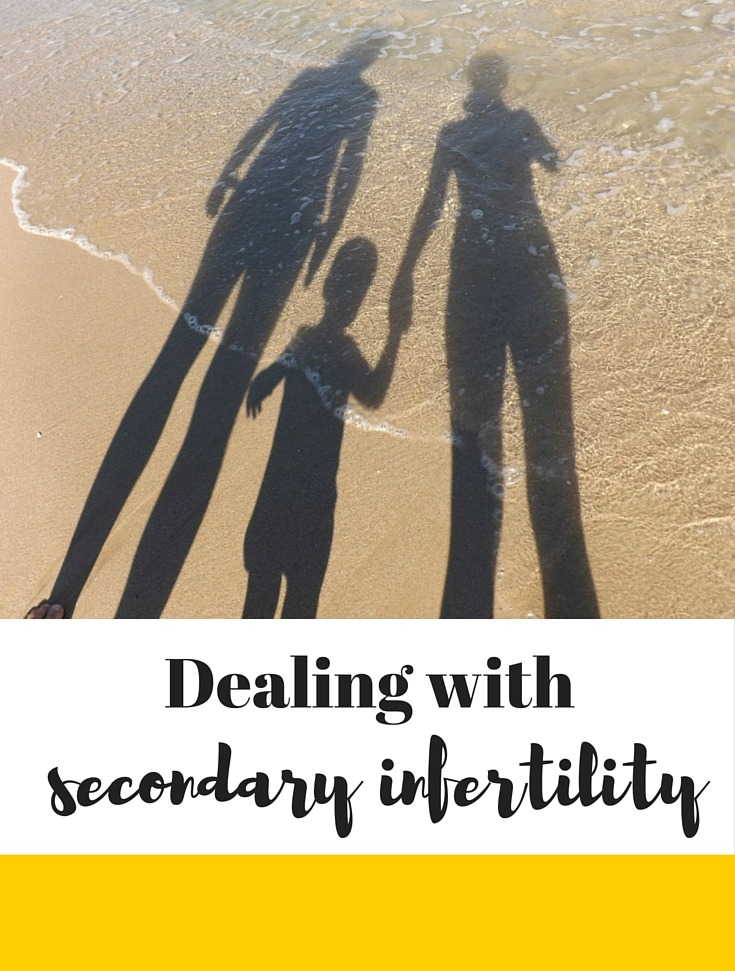 Dealing with secondary infertility can be incredibly tough - here's one mum's story