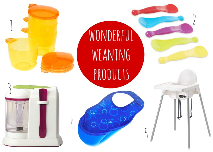 Wonderful weaning products