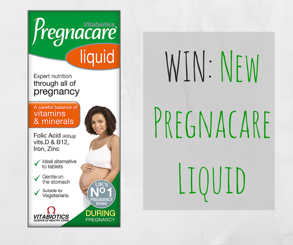 Announcing new Pregnacare Liquid & WIN three months supply