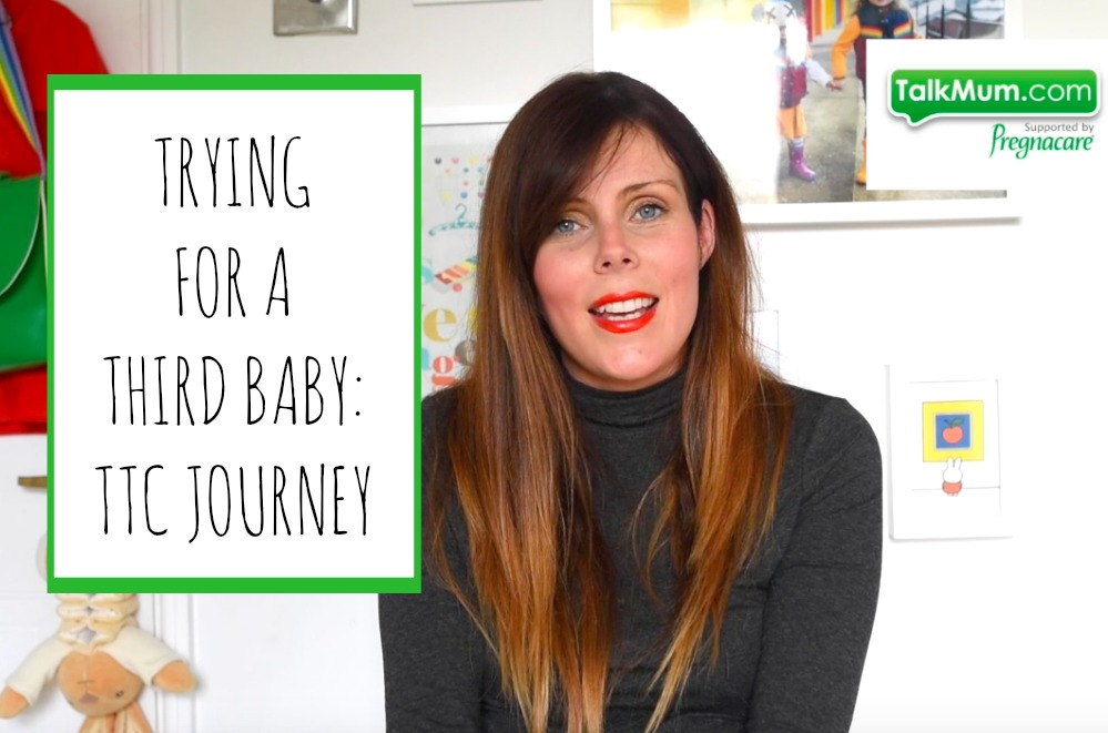 Trying for a third baby: Katie's TTC journey