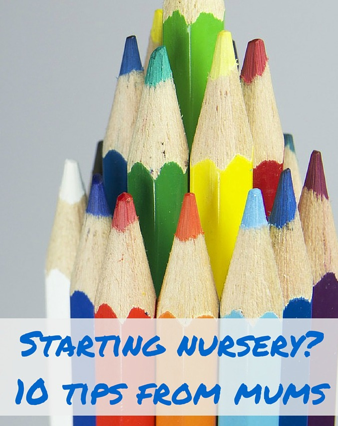 Is your child starting nursery? Here's 10 tips from other mums - find out more at TalkMum.com