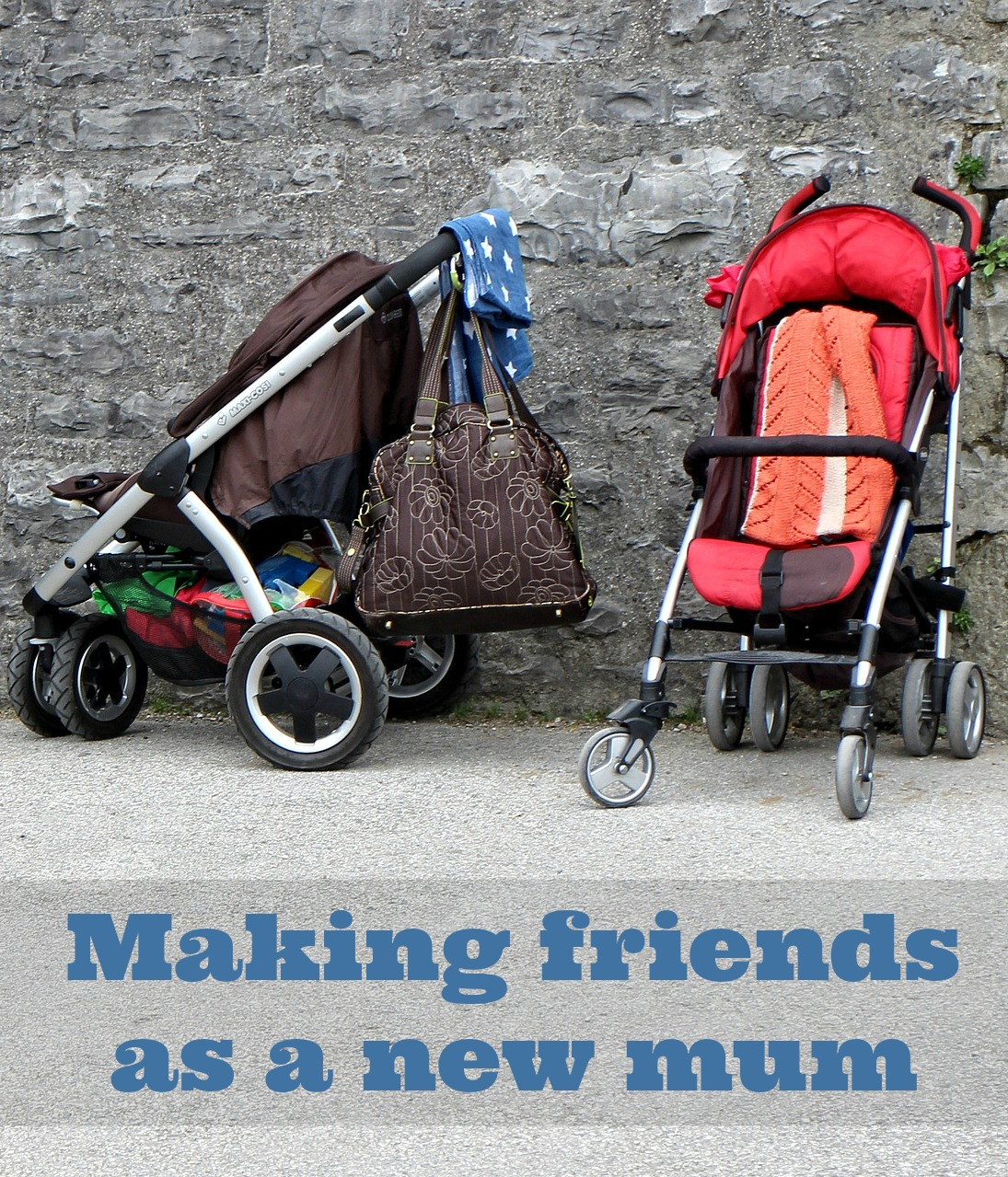 How to make new friends as a mum