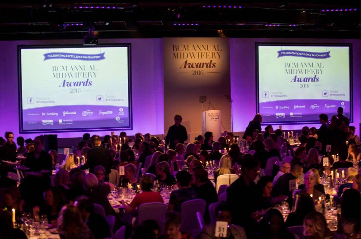 Everyone's talking about: RCM Midwifery Awards 2016