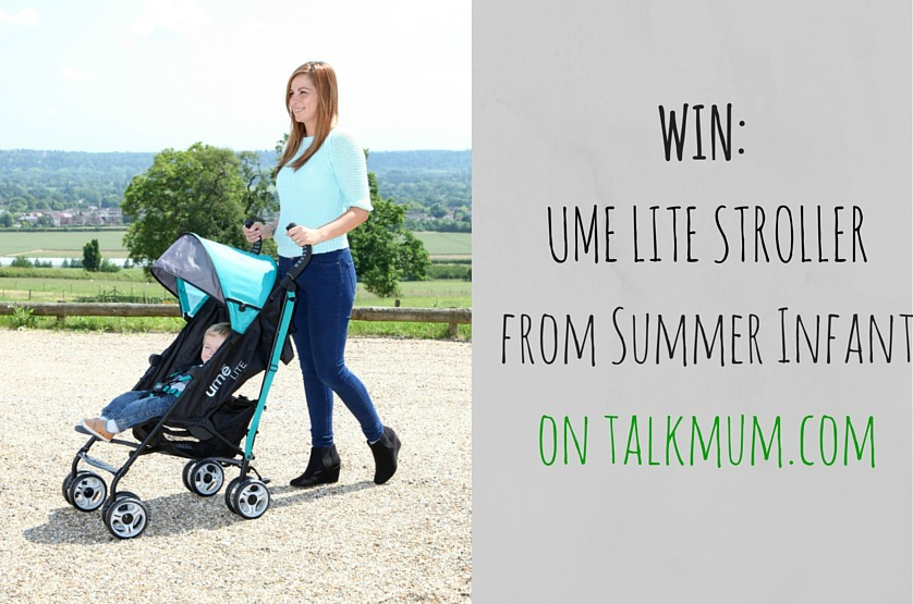 WIN: A UME Lite stroller for spring