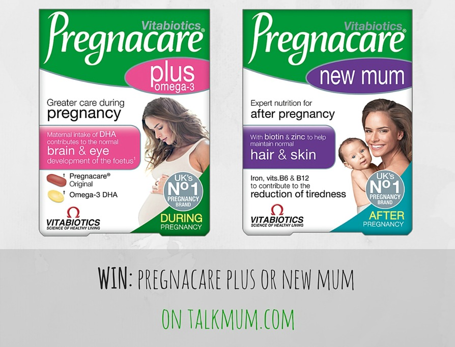 WIN: 5 x 3 months' supply of Pregnacare Plus or Pregnacare New Mum
