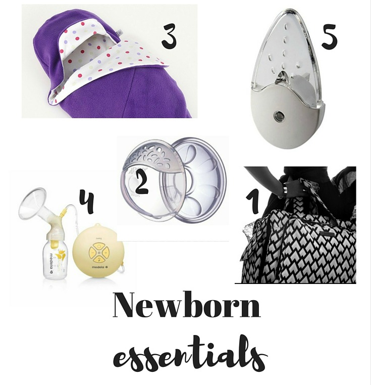 Newborn essentials - top new mum must-haves