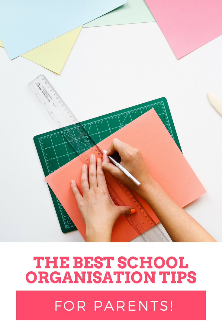 School organisation tips - for parents! The best tips to help you keep organised and on top of all the school admin