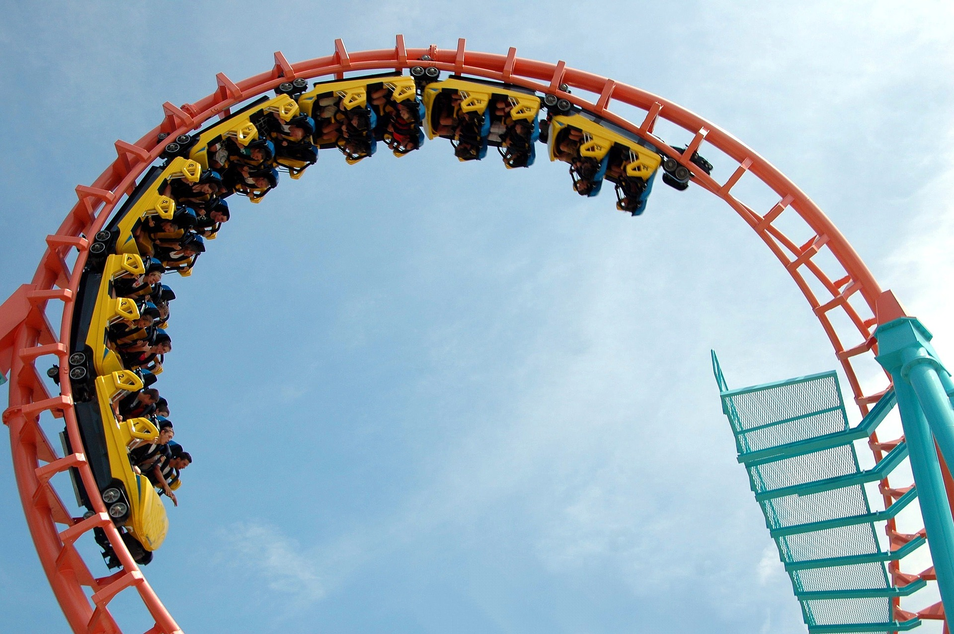 The starting school roller coaster
