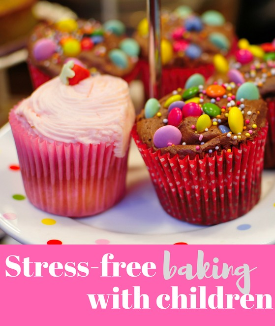 Stress-free baking with children - great list of tips if you like getting in the kitchen and making cakes with toddlers!