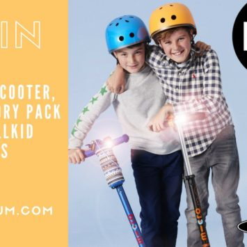 WIN a Micro Scooter, accessory bundle and six-month supply of Wellkid