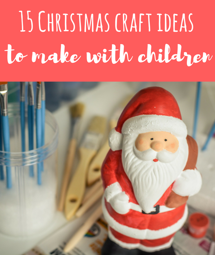 Looking for easy Christmas craft ideas to make with children? Here's a round-up from festive holiday card ideas to gift wrapping
