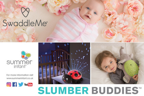 Win a bedtime bundle from Summer Infant