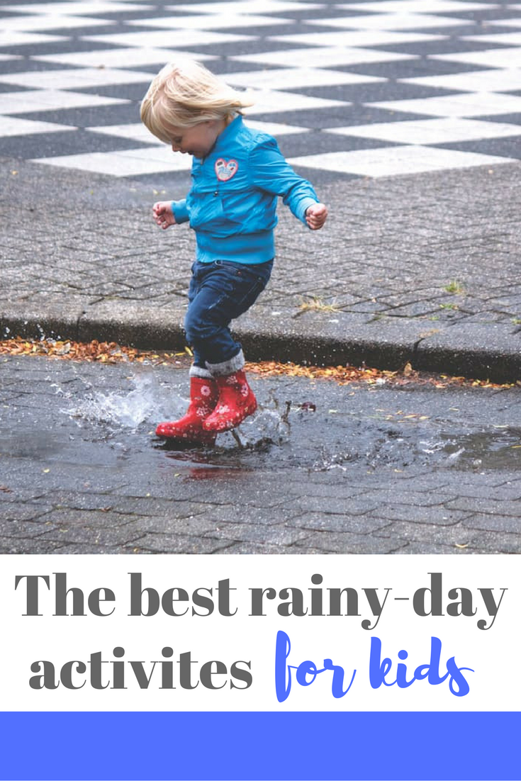 The best rainy day activities for toddlers and small children - read this list if you're stuck inside and need some inspiration!