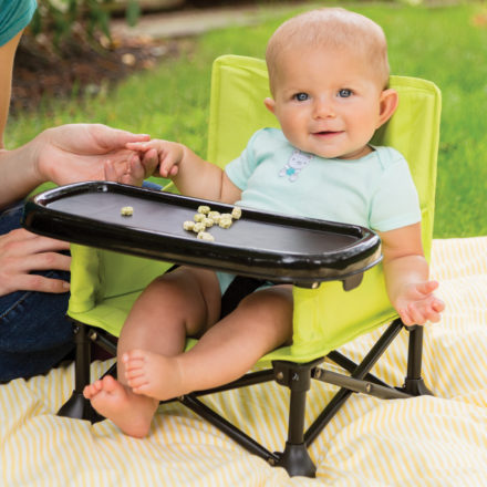 WIN – A Pop N' Sit Portable Feeding Seat from Summer Infant
