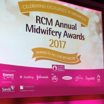 In celebration of midwives: The RCM Awards 2017