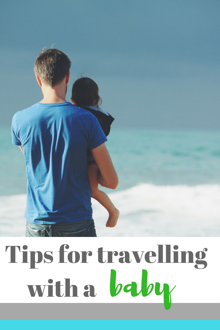 Five tips on travelling with a baby - off on a vacation soon with small children? Read these tips for stress-free travel