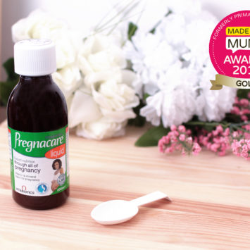Pregnacare Liquid wins gold in the MadeForMums Awards!