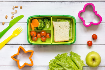 A parent's guide to packing a healthy lunchbox