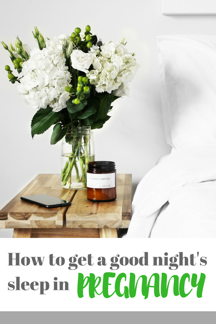 How to get a good night's sleep during pregnancy - if you're #pregnant and struggling to sleep, make sure you read these tips about sleeping well when you're expecting