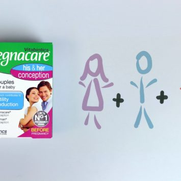 WIN: One of 10 prizes of three months' supply of Pregnacare Conception