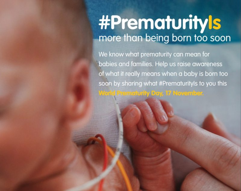 Today is World Prematurity Day 2017