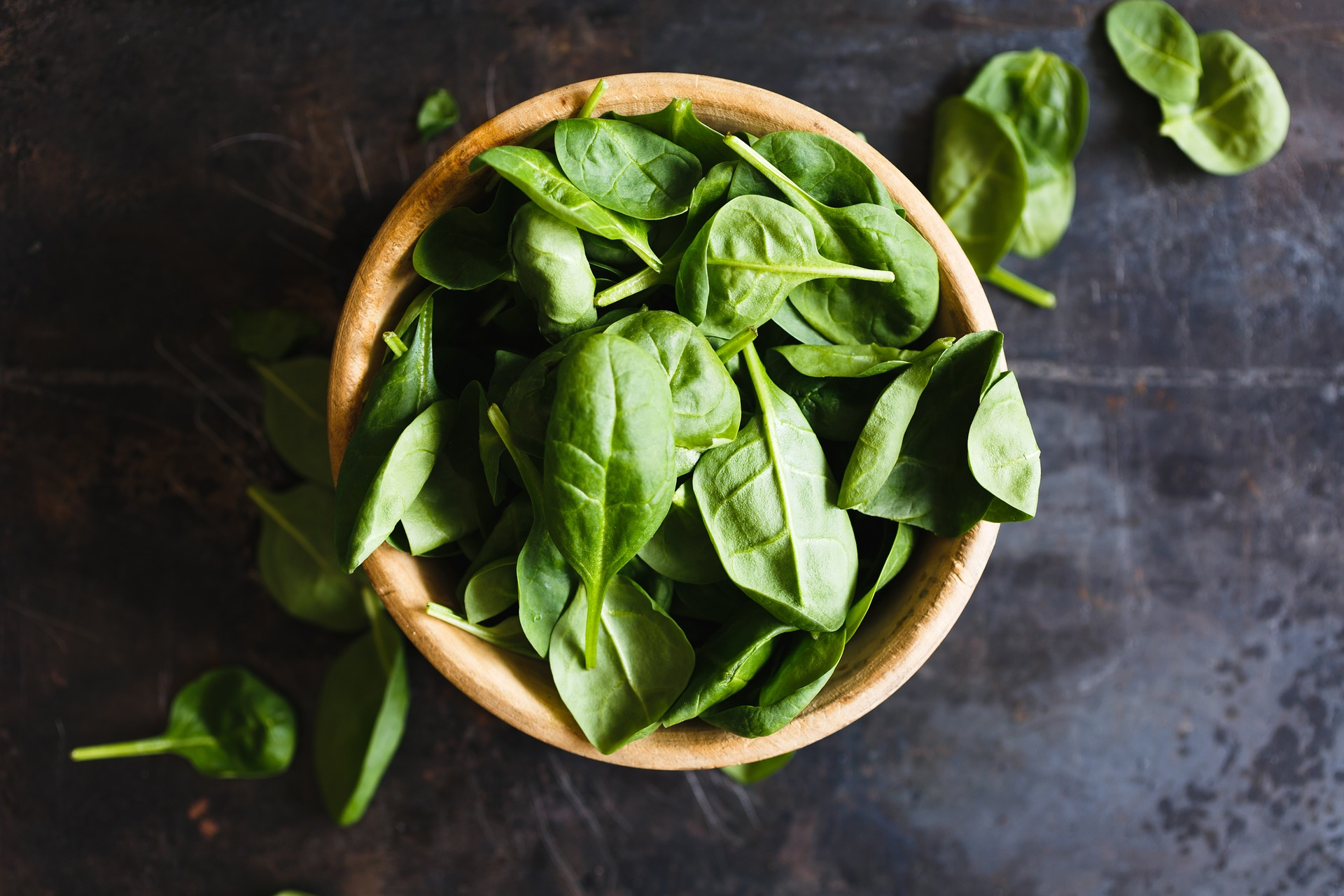 Eat spinach to help to get pregnant