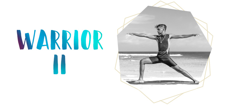 Yoga Pose: Warrior 2
