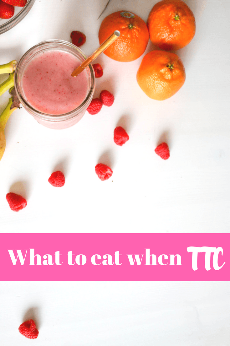 Are you trying for a baby? Here's what to eat when you are TTC - good #fertility-boosting tips for #pregnancy