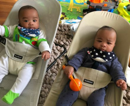 How to cope with three under two (a toddler and twins!)