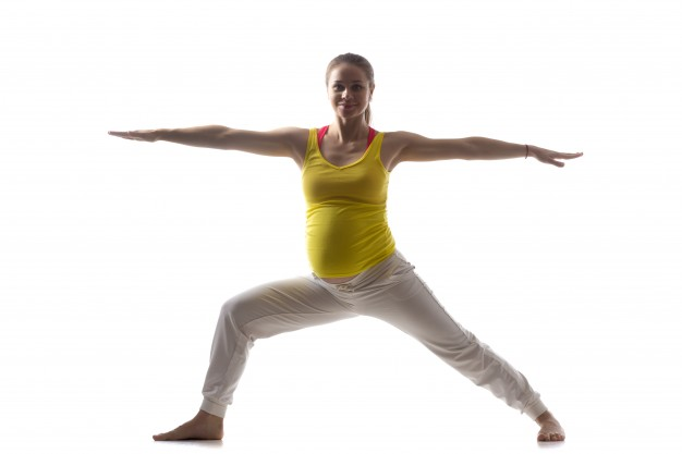 Exercise during pregnancy - yoga