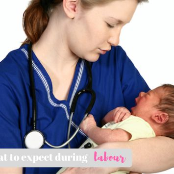 We ask our midwife about what to expect during labour