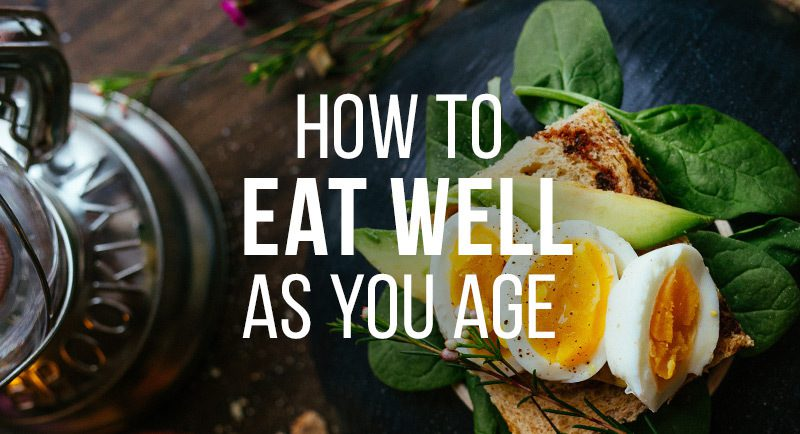 The Vitabiotics guide to eating well as you age