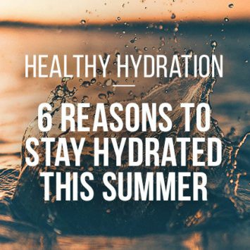 Six reasons to stay hydrated this summer
