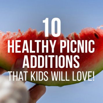 Ten healthy picnic ideas that kids will love