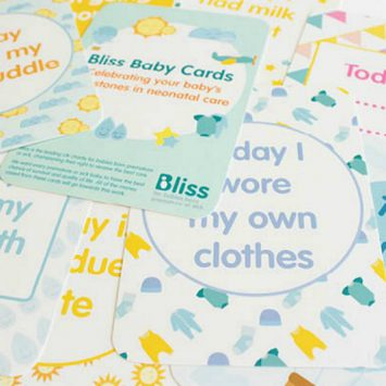 Celebrate your premature baby's unique milestones, with cards from Bliss