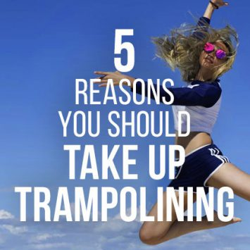 Five reasons why you should take up trampolining