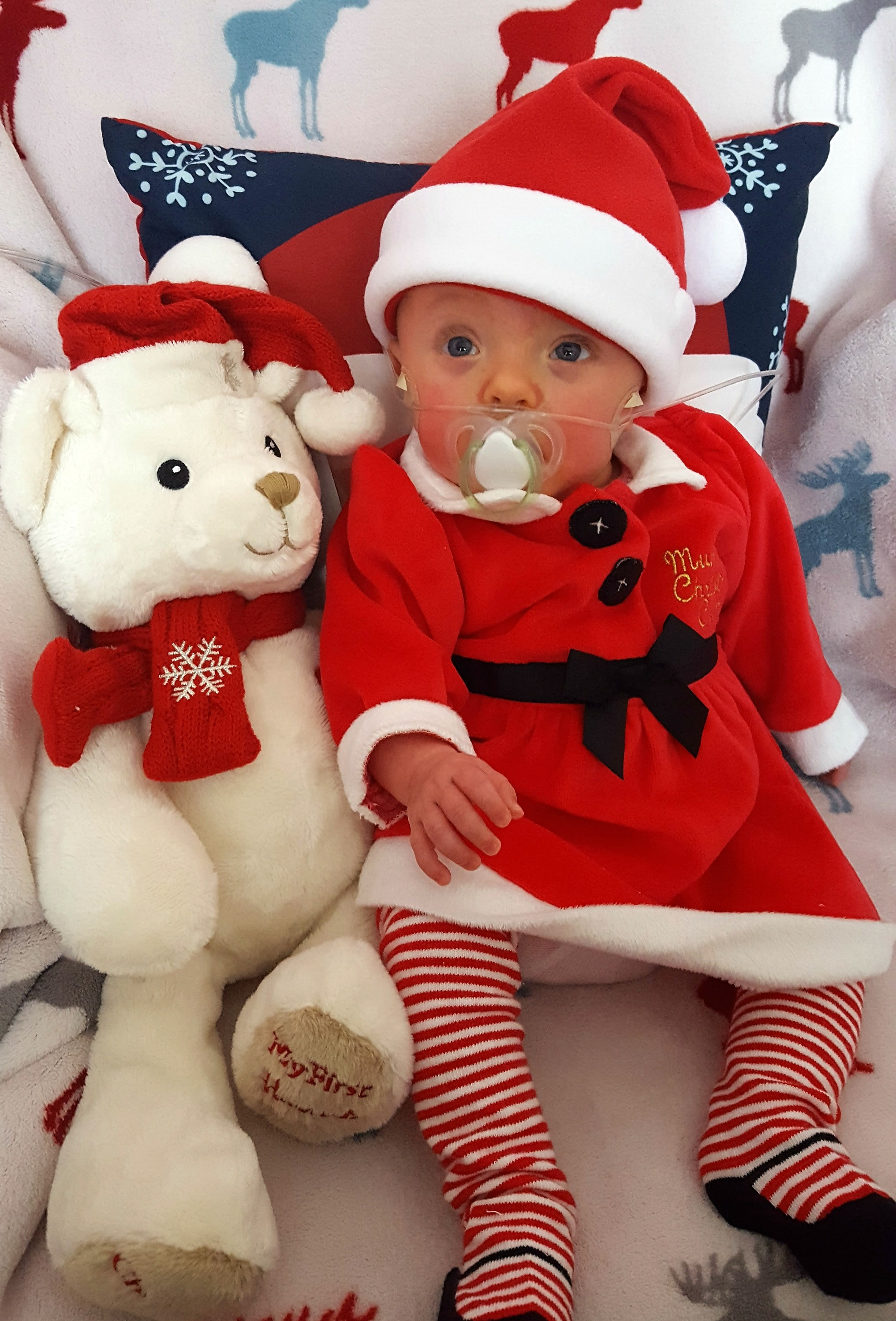 Isla's first Christmas