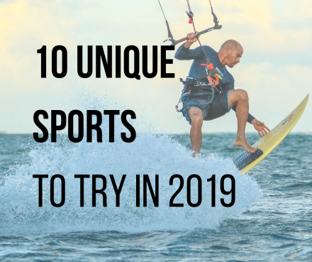 10 of the best unique sports to take on in the new year