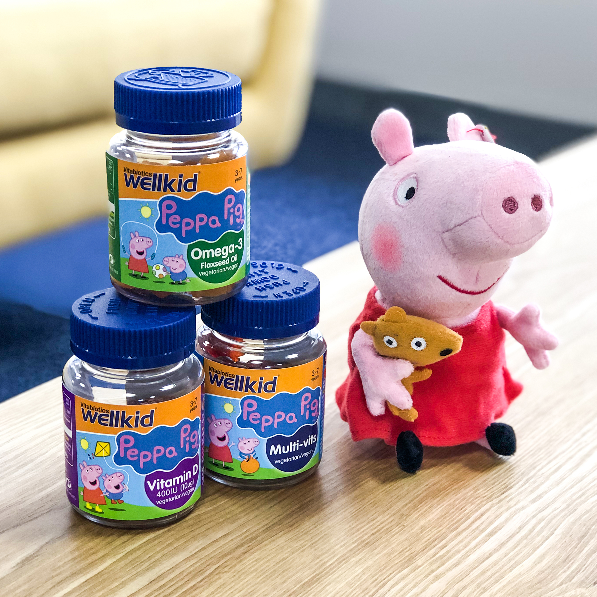 Wellkid Peppa Pig multi vitamins
