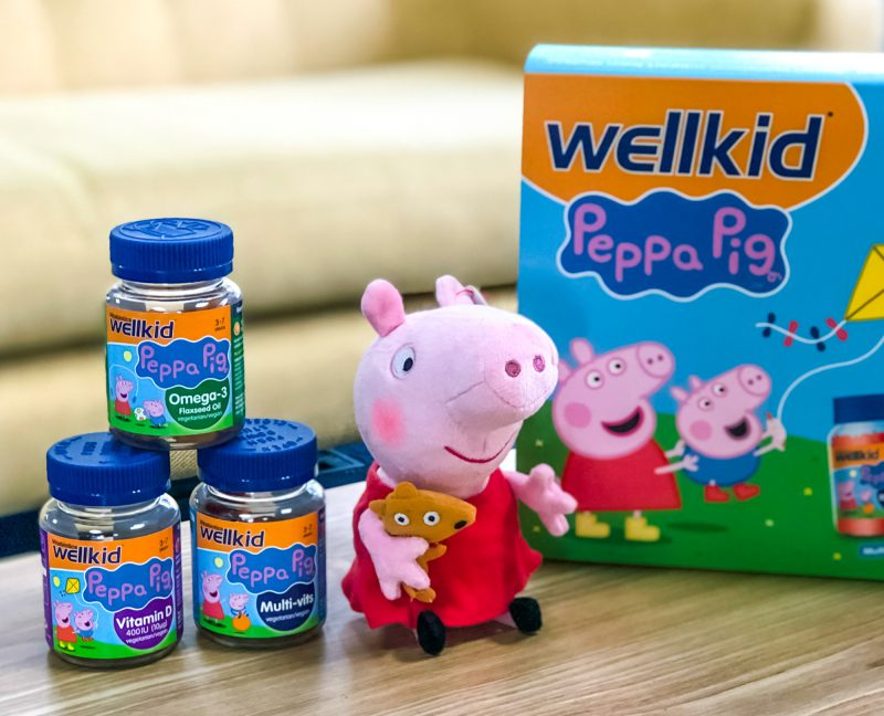 Celebrate Veganuary with Wellkid and Peppa Pig