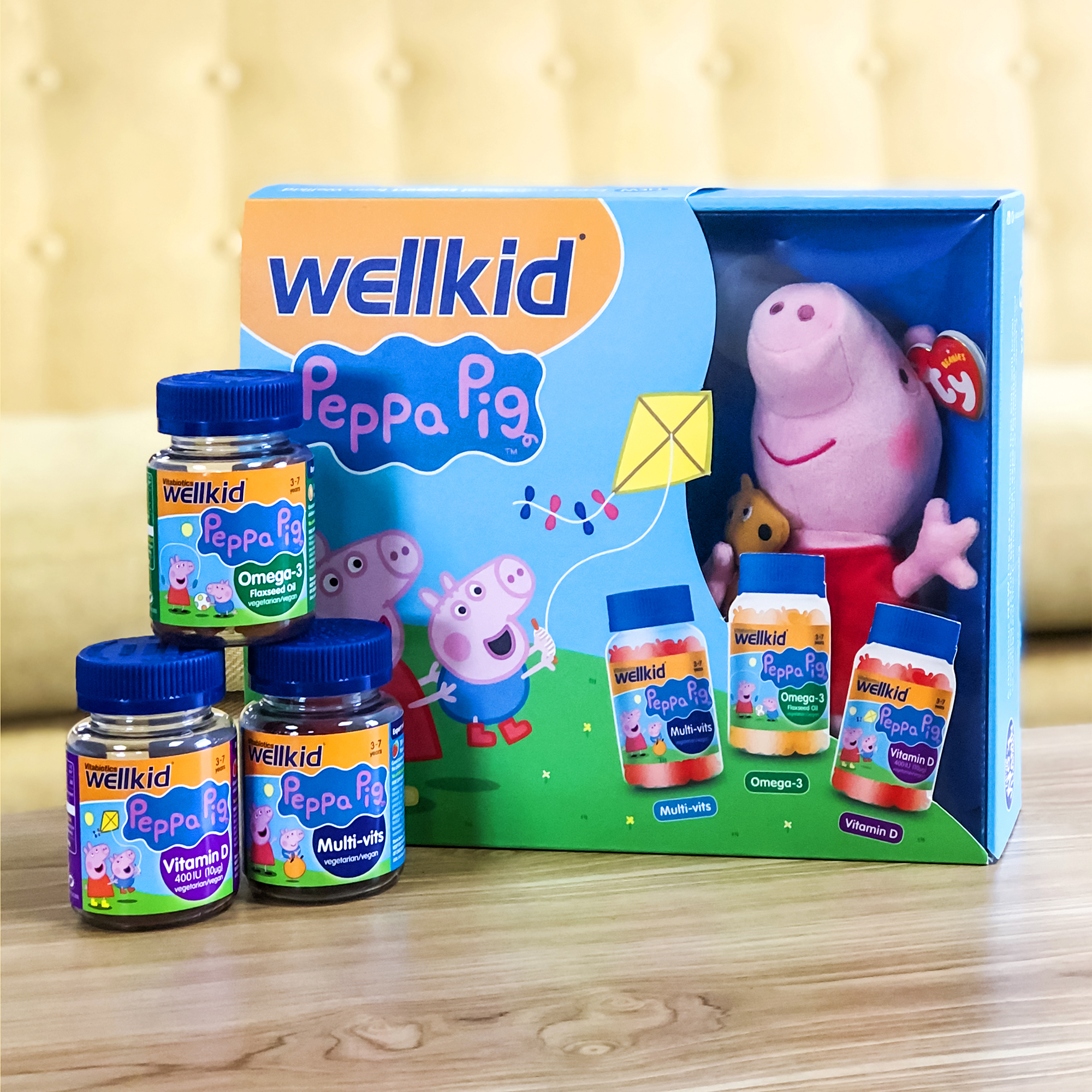 Wellkid Peppa Pig vitamins