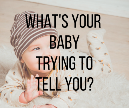 Baby body language: What's your baby trying to tell you?