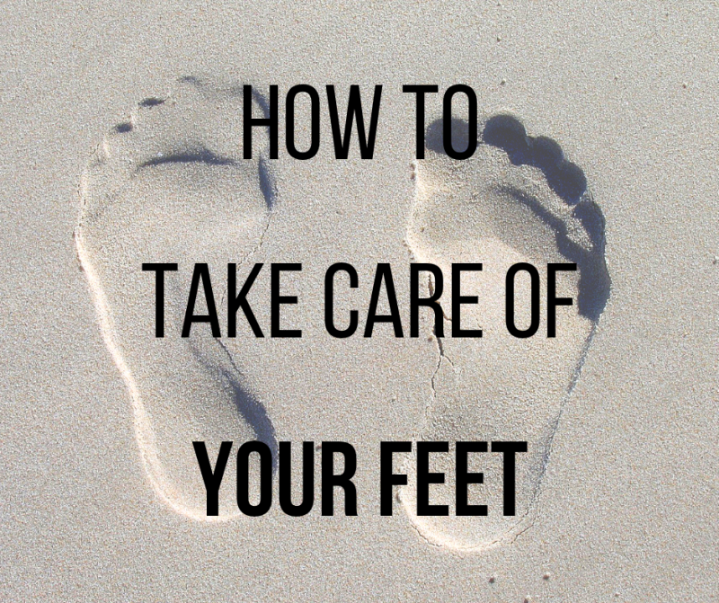 Here's how to care for your feet so they'll take care of you