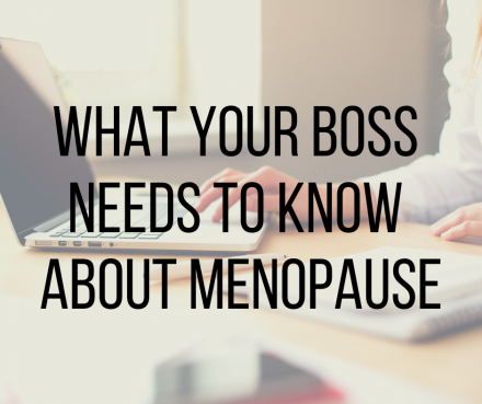 The key recommendations your boss should know about menopause