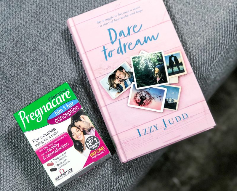 NEW TalkMum Book Club – Izzy Judd, Dare to Dream and Let's Talk Fertility