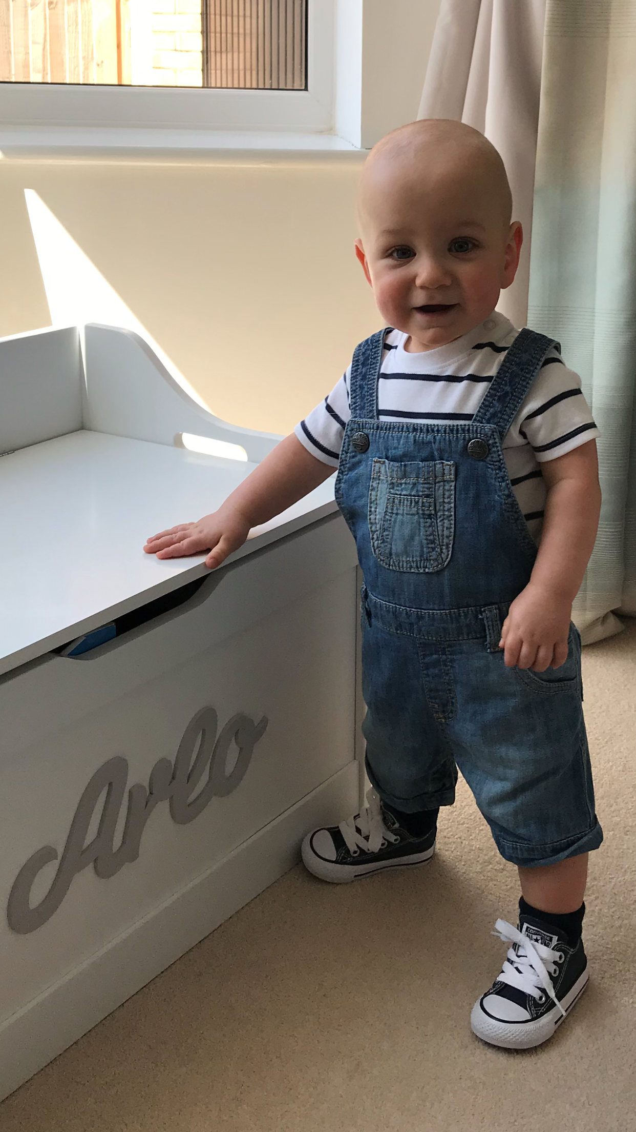 Arlo - Ben's story about running the London Marathon for Bliss