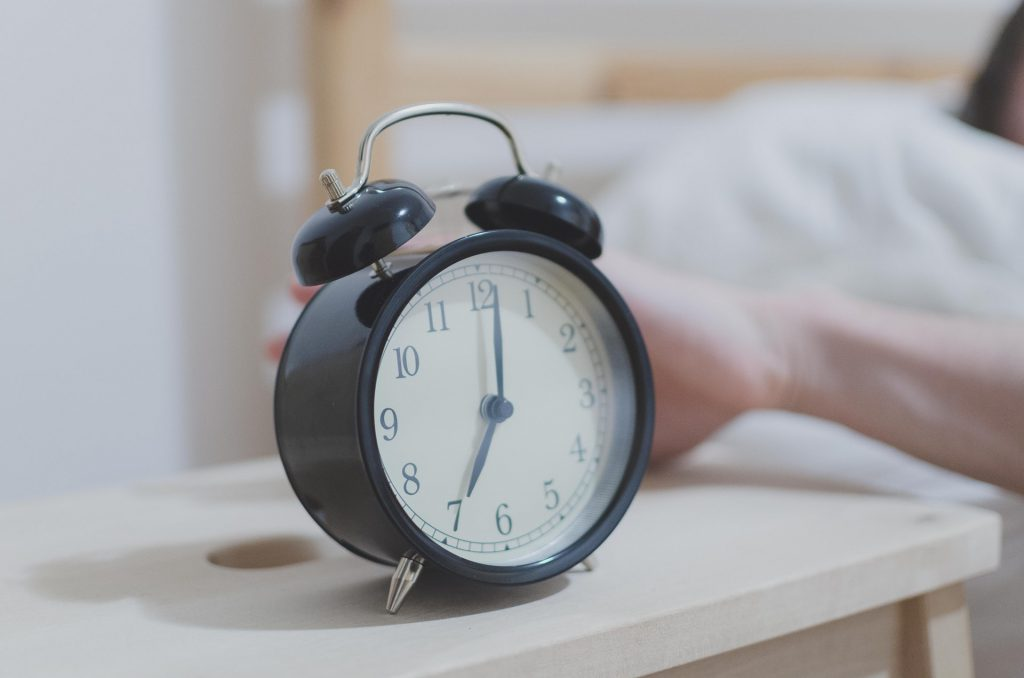 Don't: Hit the snooze button when you wake up