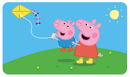 Celebrate the launch of the new cinema experience, Peppa Pig: Festival of Fun, with Wellkid Peppa Pig